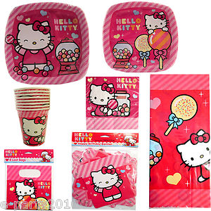 Adorable Sweet 16 Hello Kitty Birthday Set