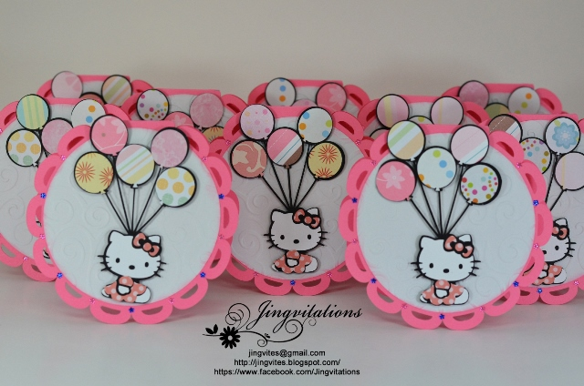 Amazing Hello Kitty invitations