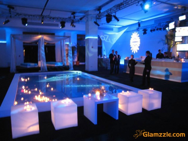 Blue Party Decor!