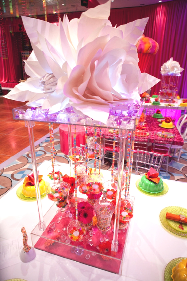 Candy Party Centerpieces-love this for a mitzvah