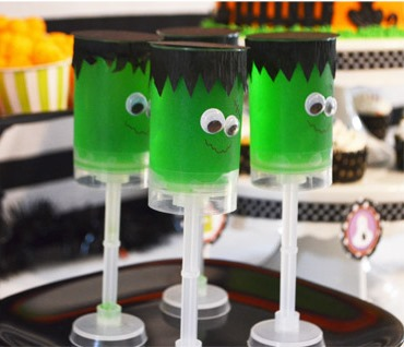 Cute Frenkenstien Jello treats!