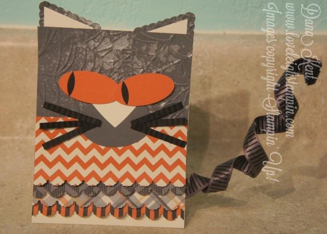 Cute Halloween Cat Invitation