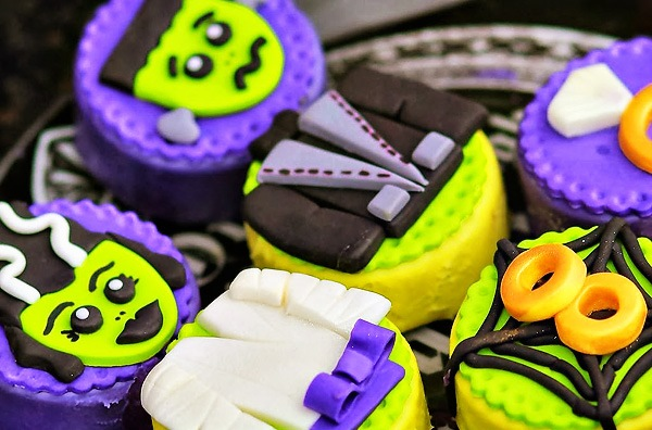 Frankenstein Oreo treats!