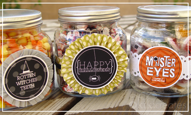 Free Halloween Jar Label Printables