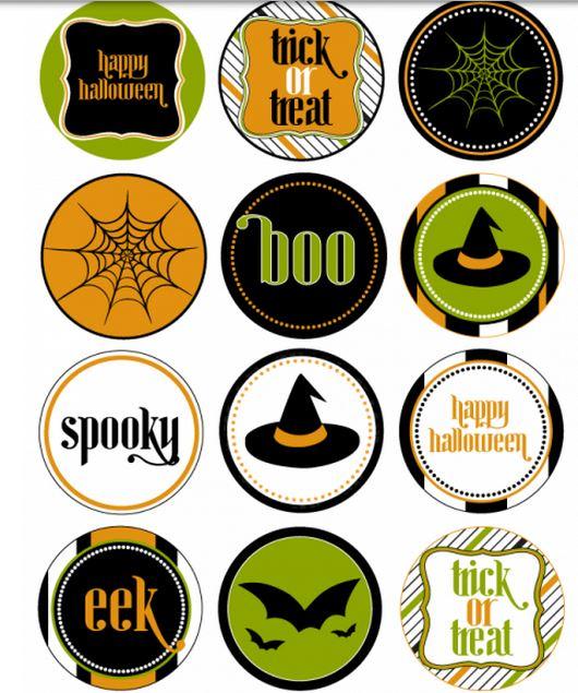 Free Halloween printables set