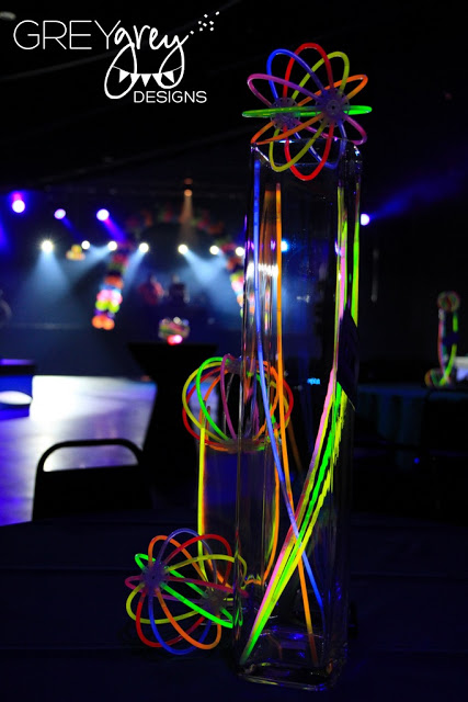 Glow In The Dark Party Centerpieces. See More Glow In The Dark Party Ideas On B. Lovely Events