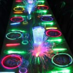 Glow In the Dark Guest Tables