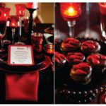 Halloween Vampire Table Setting