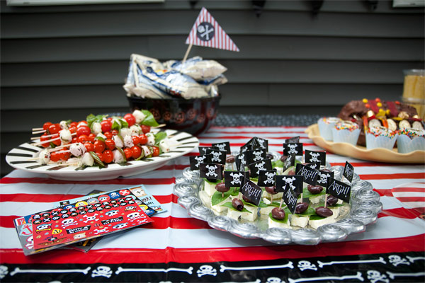 Love this pirate party food