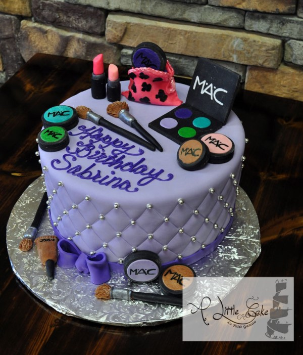 Mac Sweet 16 cake