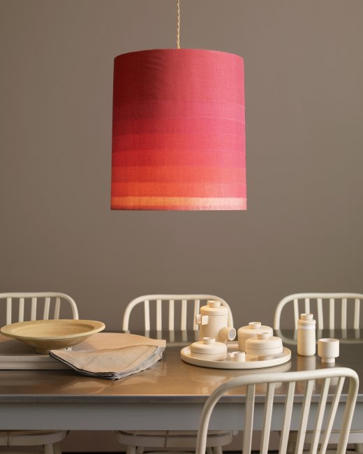 Pink Ombre party DIY Lampshade!