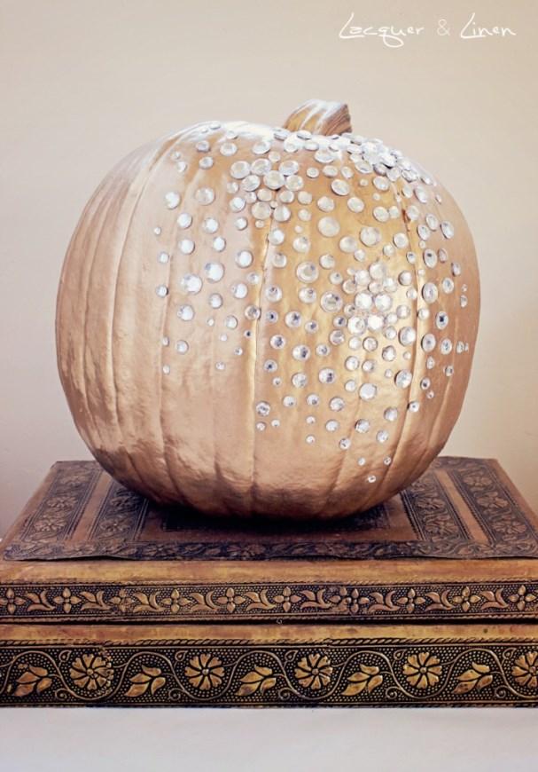 Sparkly Pumpkin for Halloween!