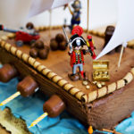 Too cute pirate cake