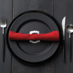 Love these vampire place settings
