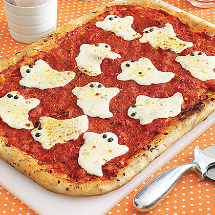 Yes! make this awesome ghost pizza