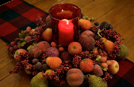 Abundant Fall centerpiece