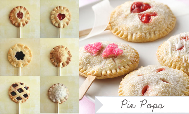 ... ingredients recipe heart shaped pie pops heart shaped mini pies pie