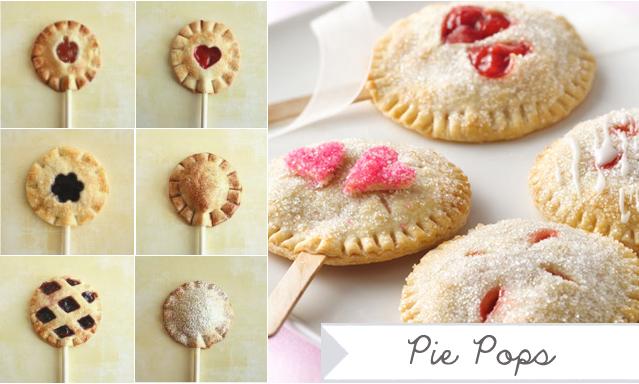 Adorable pie pops