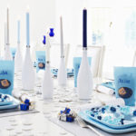 Blue and White Hanukkah Party