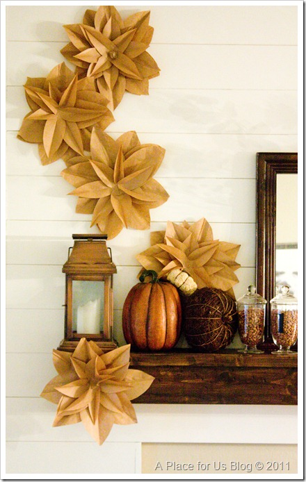 Giving thanks has never looked so good b lovely events for Homemade fall decorations for home