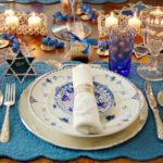 Hanukkah Place settings