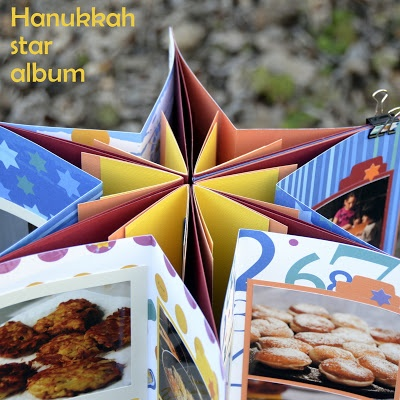 Hanukkah Star Photo Album
