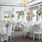 Luxury white wedding
