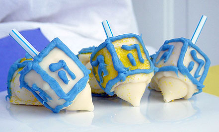 Hanukkah Marshmallow Dreidels Recipes — Dishmaps