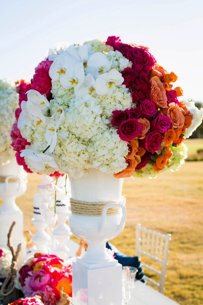 Jaw dropping rustic modern centerpiece b lovely events