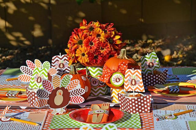 Super fun and modern Free Thanksgiving printables