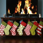 Bold and beautiful Christmas Stockings