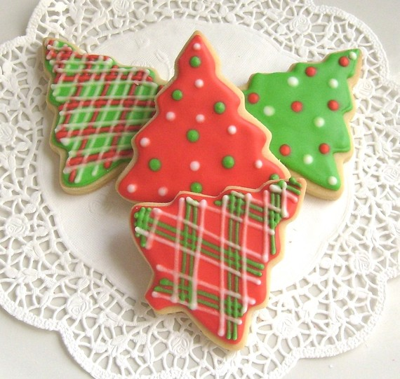 Chrsitmas Tree Cookies!