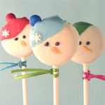 Darling Oreo Snowman pops