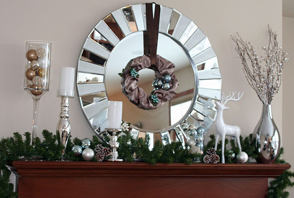 Gorgeous Christmas Mantel