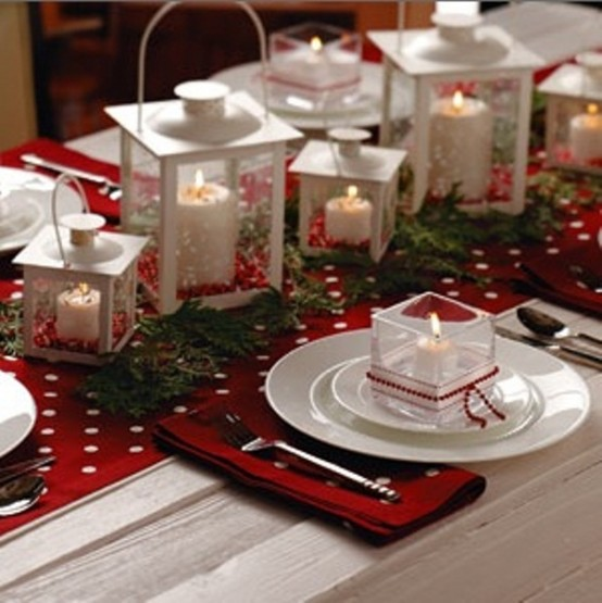 Christmas countdown day centerpieces b
