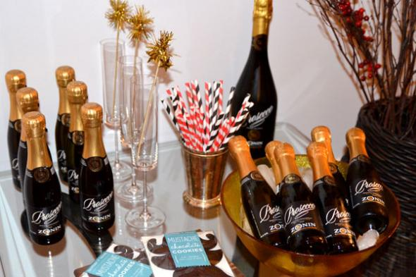 Mini Champagne bar