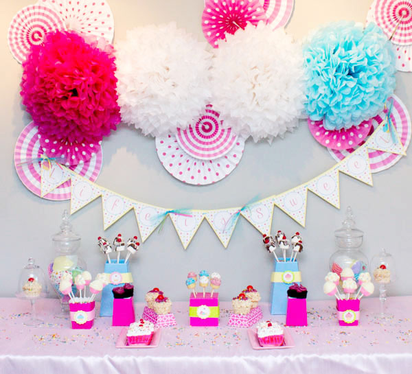 Cupcake Party Dessert Bar! B. Lovely Events
