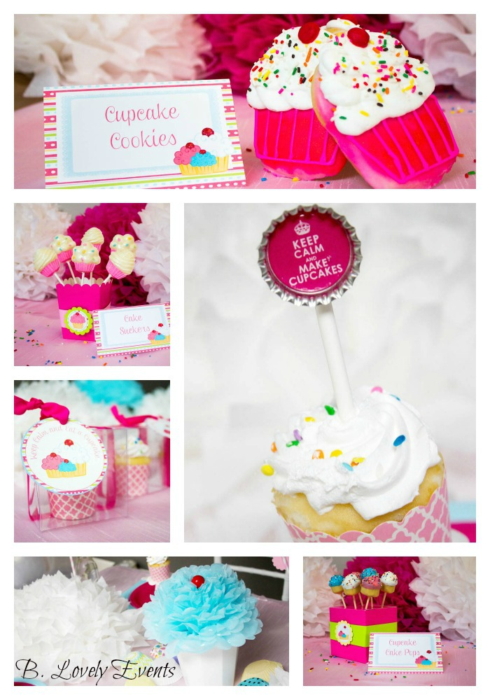 Cupcake Party Ideas! -B. Lovely Events