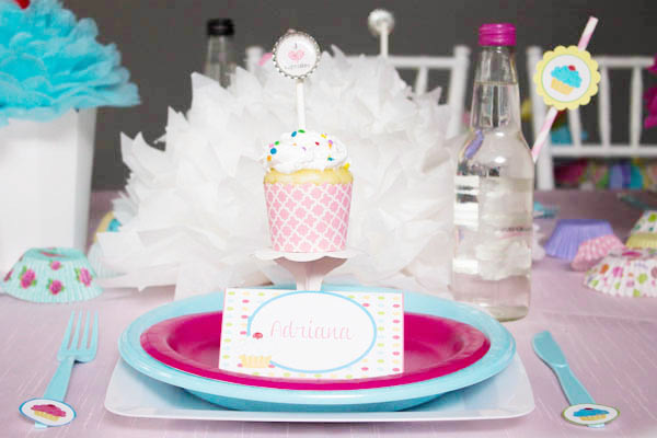 Cupcake party- B. Lovely Events