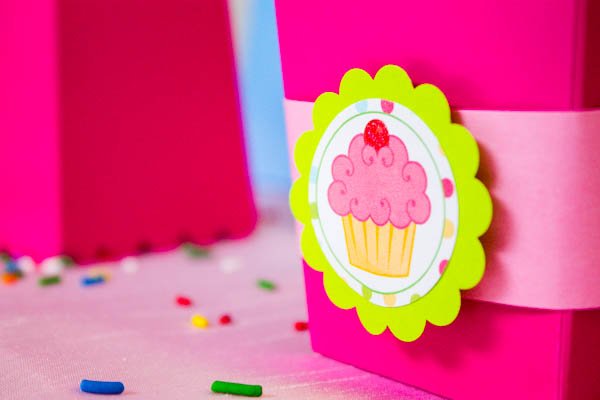Cute Cupcake Party Tags- B. Lovely Events