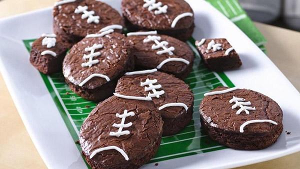 Football brownies!