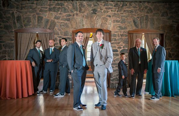 Great Groom and Groomsmen shot