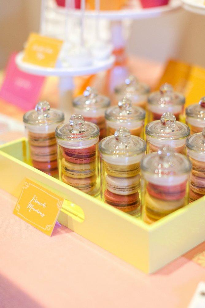 Mini dessert apothecary jars
