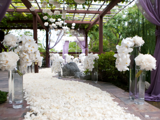 flowers for wedding ceremony