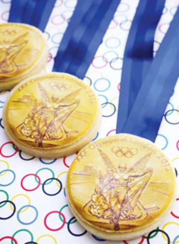Amazing Olympic Cookies