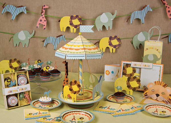 this boys safari baby shower is seriously lovely that carousel is