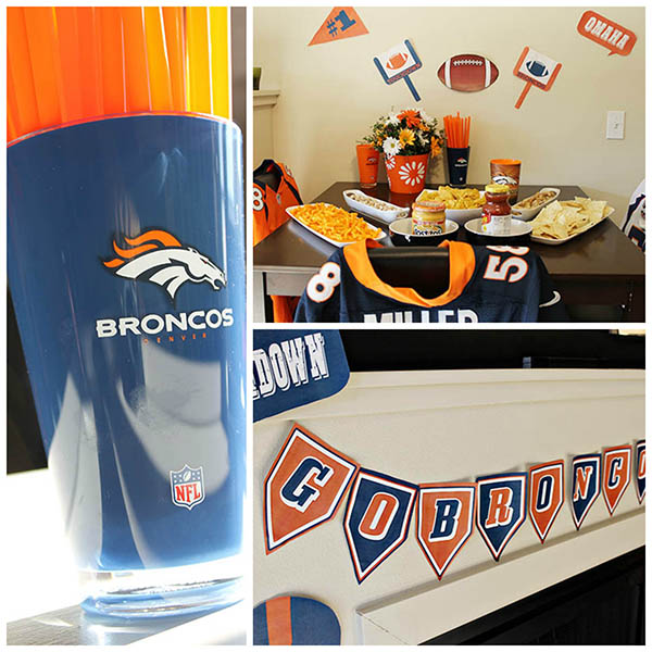 Bronco Super Bowl party