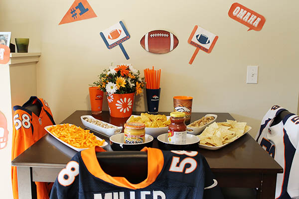 Broncos Super Bowl Party