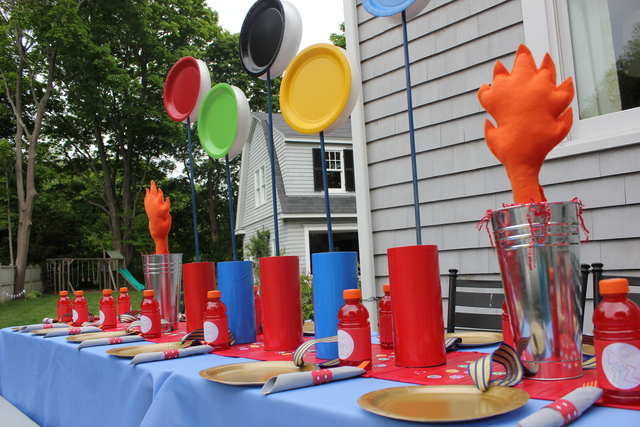 Cute DIy Olympic Party