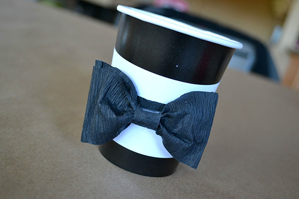 Darling tuxedo cups for the oscars